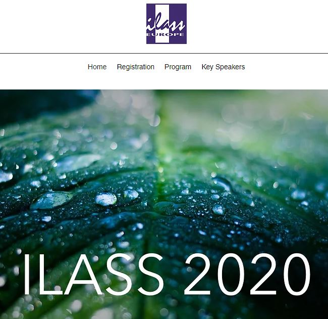 ILASS-EUROPE - WEB CONFERENCE - September 9, 2020